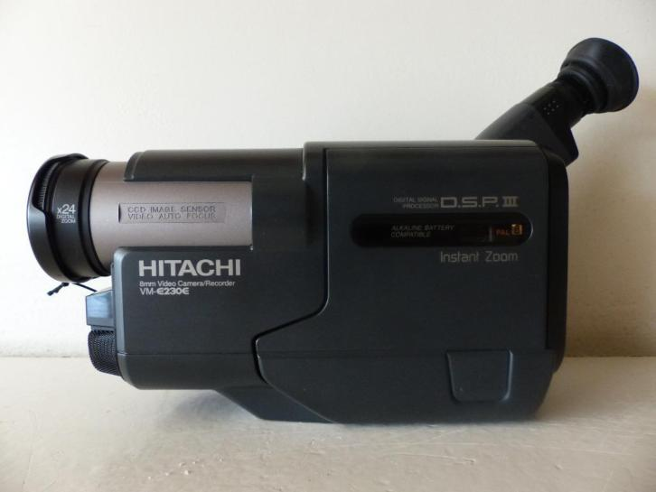 Hitachi VM-E230E 8mm Camcorder