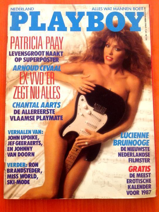 Playboy 1986 Patricia Paay