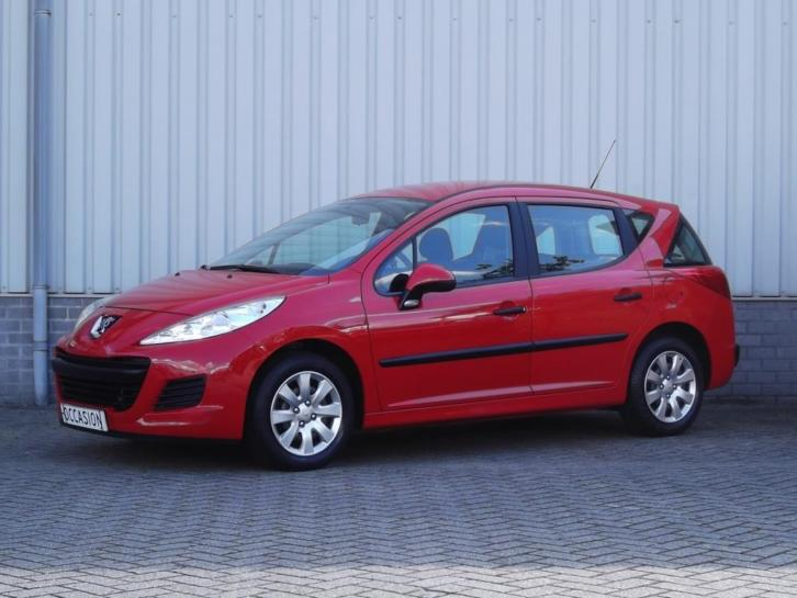 Peugeot 207 SW 1.4 XR 2011 Rood *Lage KM.stand*