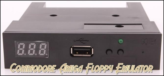 Nieuw Commodore Amiga Gotek Floppy Emulator Plug & Play.