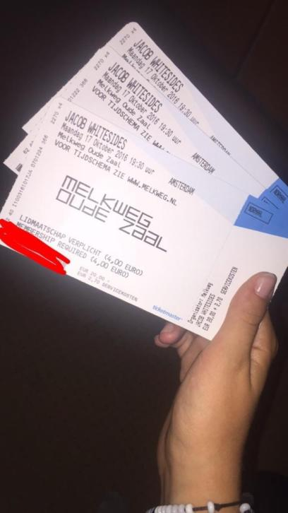 Jacob Whitesides tickets, Melkweg Amsterdam