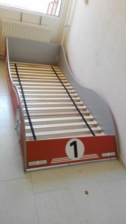 kinderbed auto race bed