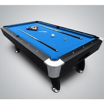 GTS Pooltafel BlackMagic Poolbiljart 7FT / 8FT + accessoires