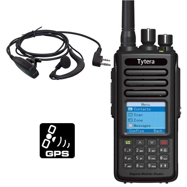TYT MD-390 DMR,IP67 waterproof UHF 400 - 480 MHz + GPS + HS
