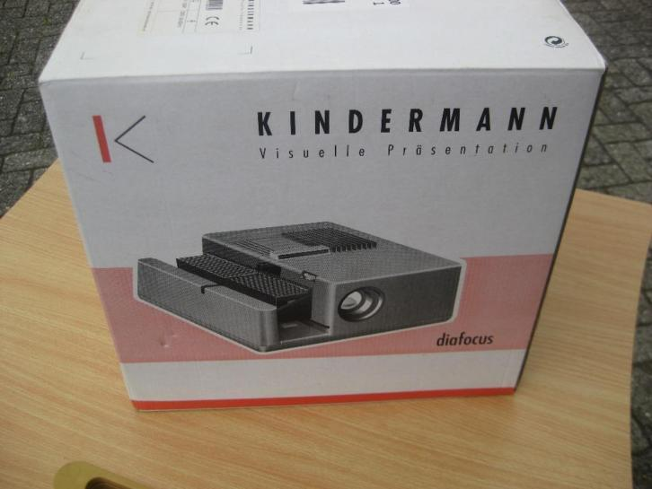 diaprojector Kindermanc diascherm diatafel