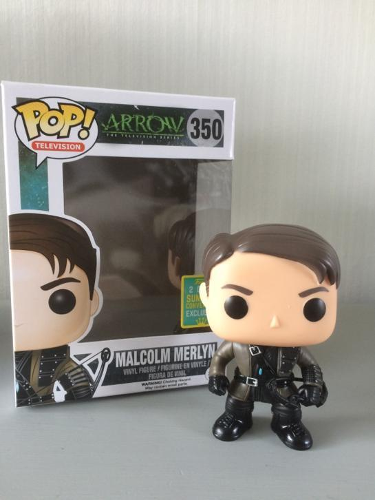 "SDCC 2016 Funko Pop Arrow ""Malcolm Merlyn"""