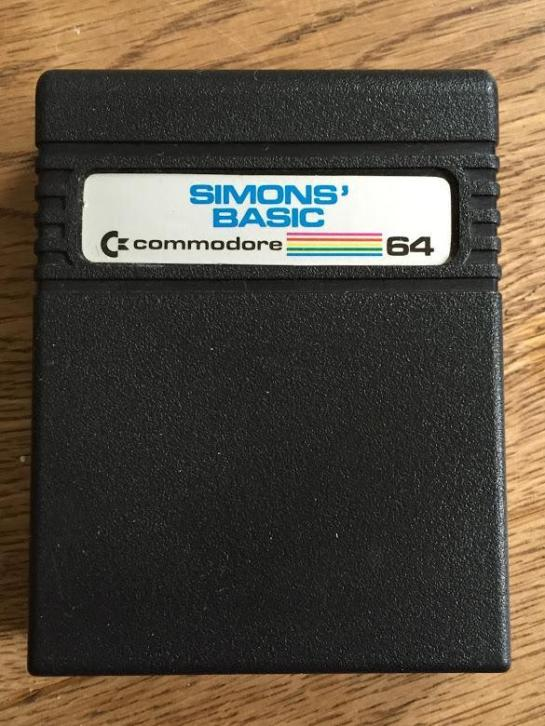 Simons' Basic cartridge voor Commodore 64