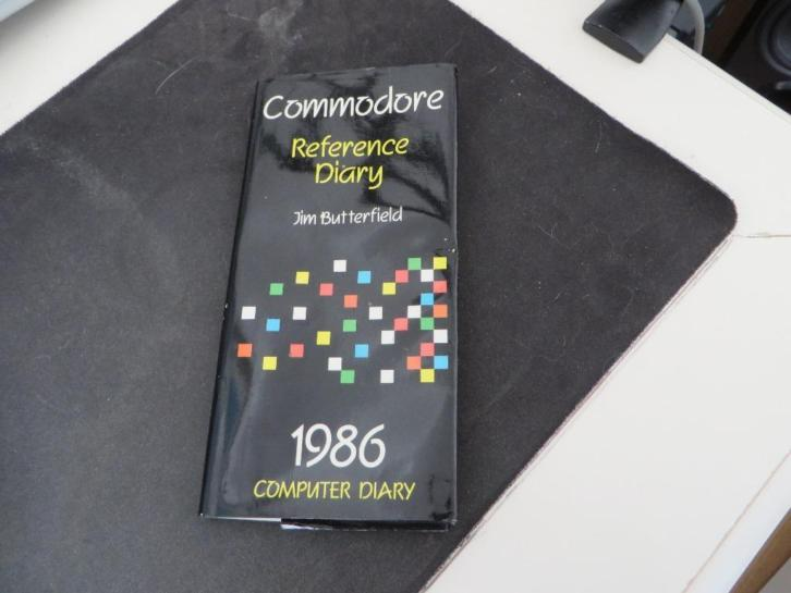 commodore reference diary