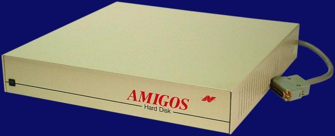 Amiga Amigos OMTI controller A500, A1000 Interface side