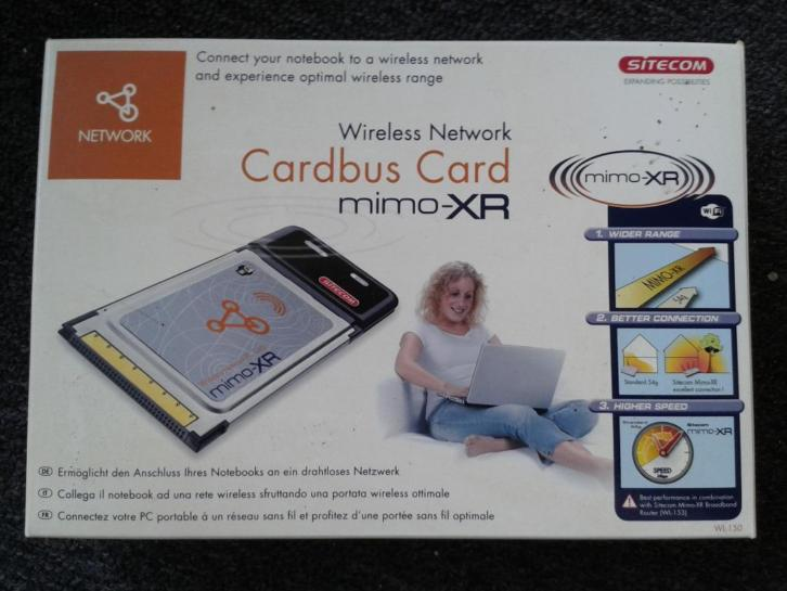 Wireless Network Cardbus Card mimo-XR