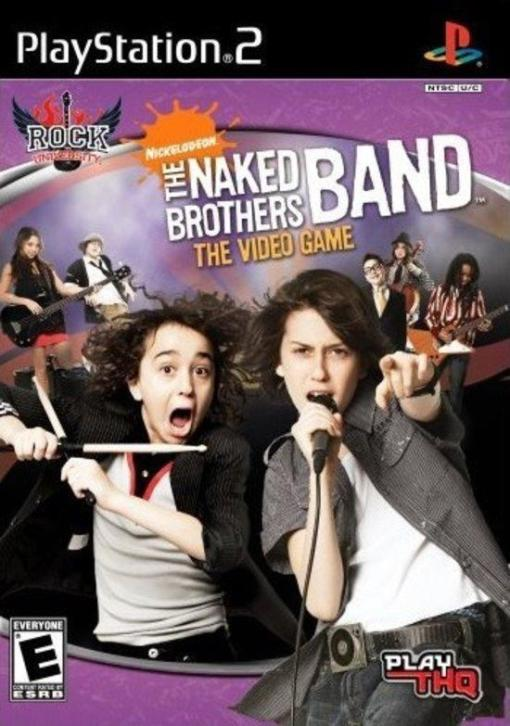 The Naked Brothers Band the videogame (ps2 used game) | P...