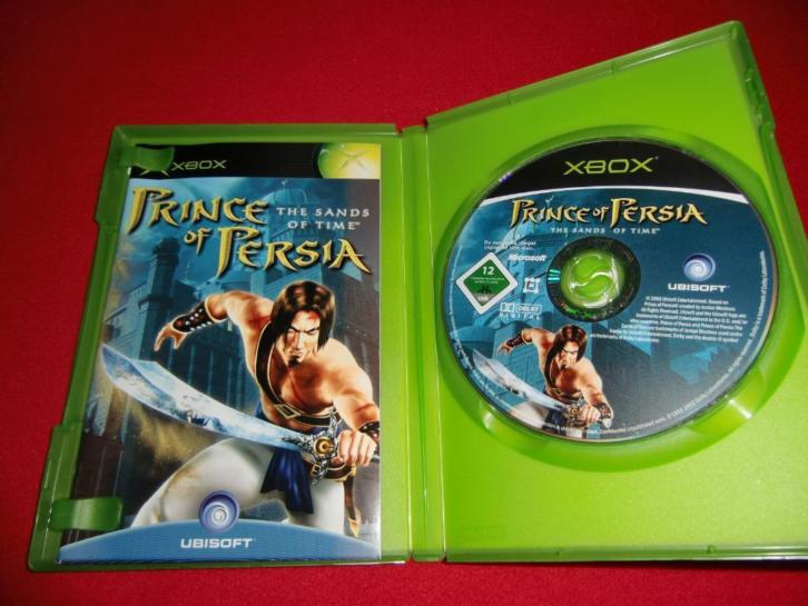 Prince of Persia the Sands of Time - Xbox