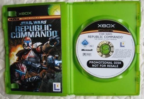 (Promotional Disk) StarWars Republic Commando - voor XBox