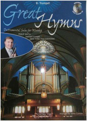 Bb Trumpet grade 3-4: Great Hymns+ cd