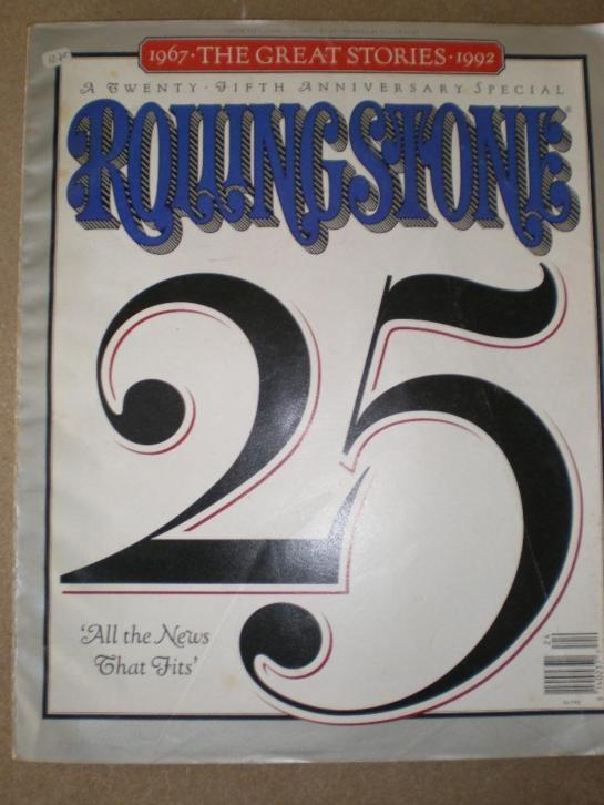Rolling Stone 25,jubileum.