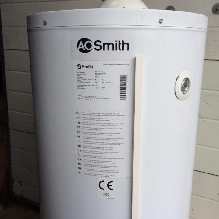 AO Smith boiler EQ 115N 109 liter direct gestookt aardgas