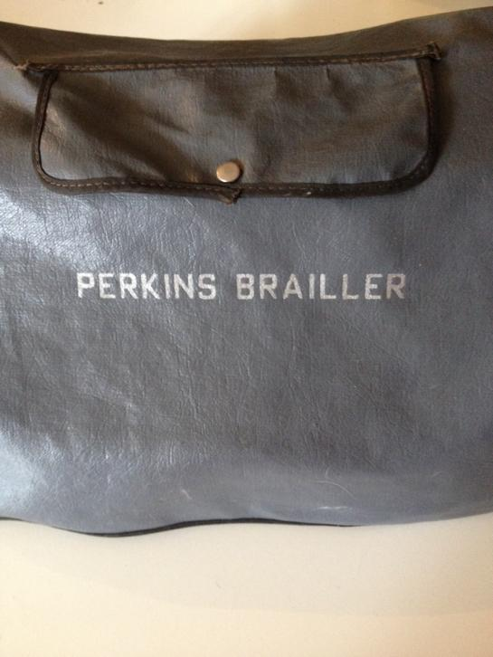 Perkins brailler, braille typemachine