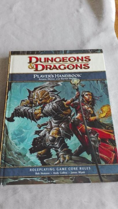 Dungeons & Dragons player's handbook 4th edition