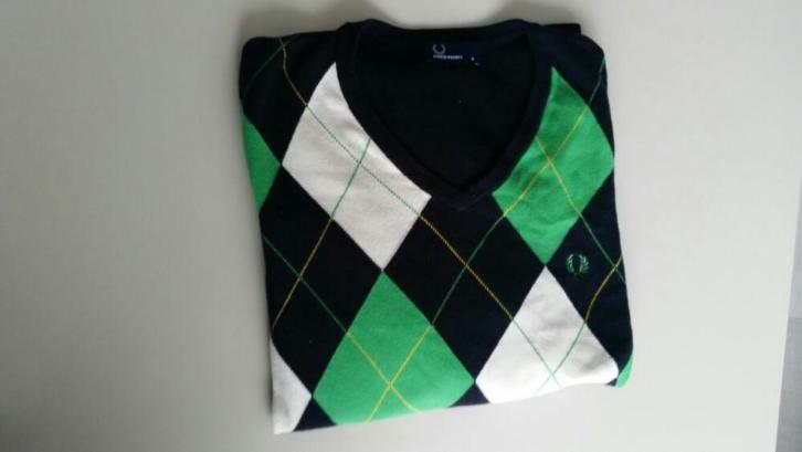 Fred Perry v-hals