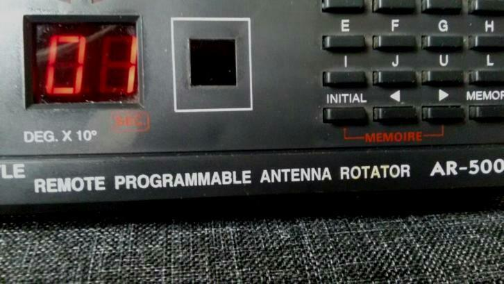 remote progr. antenna rotator AR-500 (bedienings kast)
