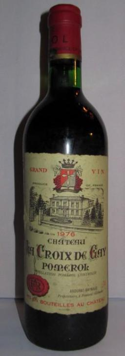 Bordeaux 1976 La Croix de Gay Pomerol top!