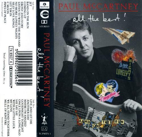 Paul McCartney All The Best! (cassette)