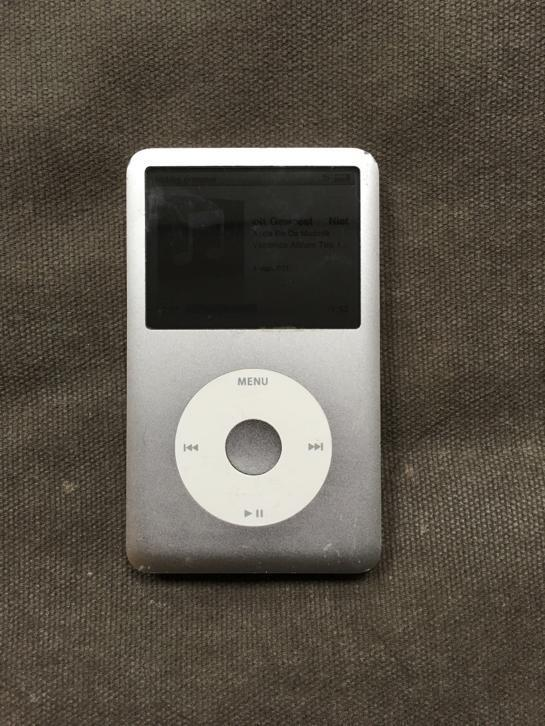 iPod classic 80G 'classic' in goede staat!