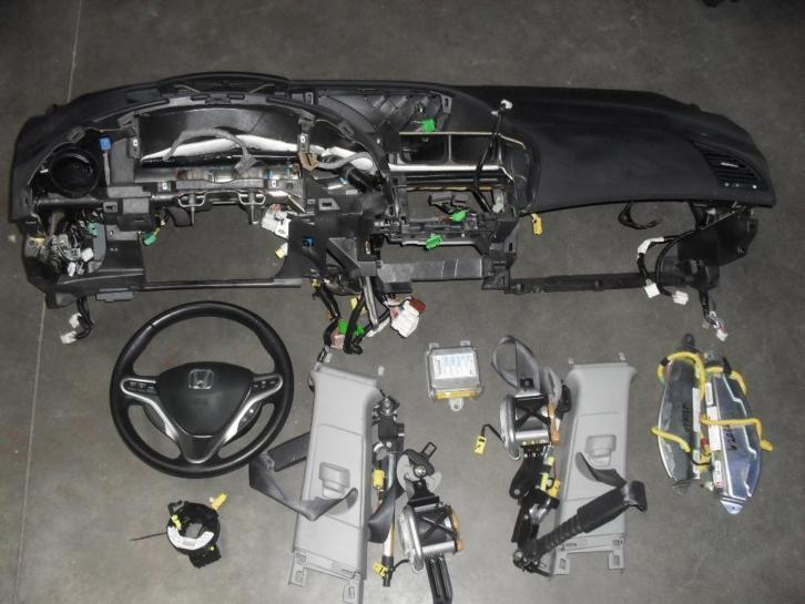 Complete airbag set honda Civic model 2006-2012