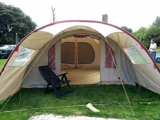 Brixen active leisure 6 persoons tunneltent.