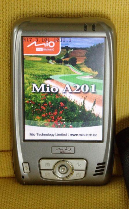 pocket pc mio a 201