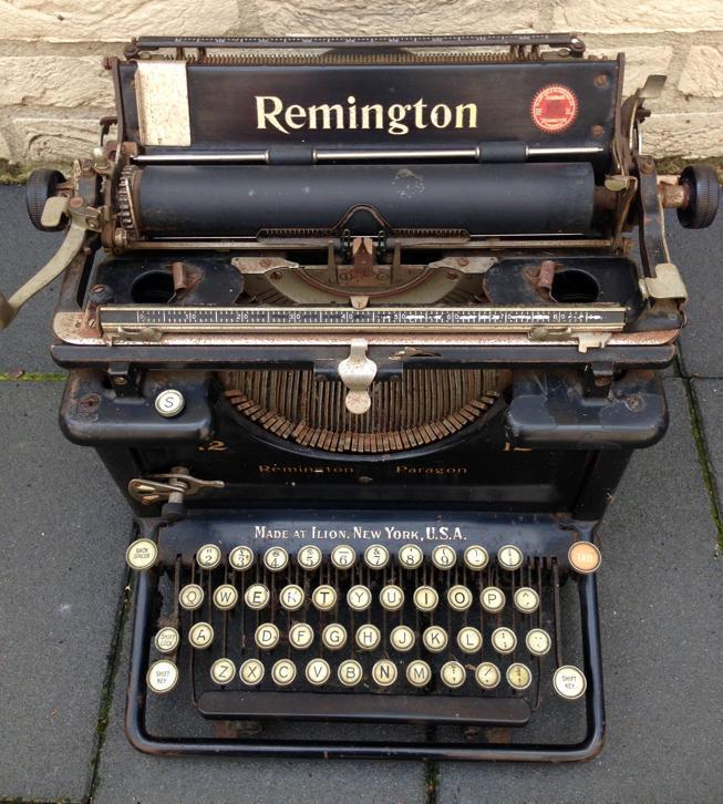 Antieke typemachine Remington