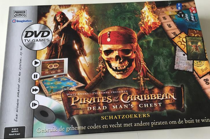 Pirates of the Caribean DVD bordspel