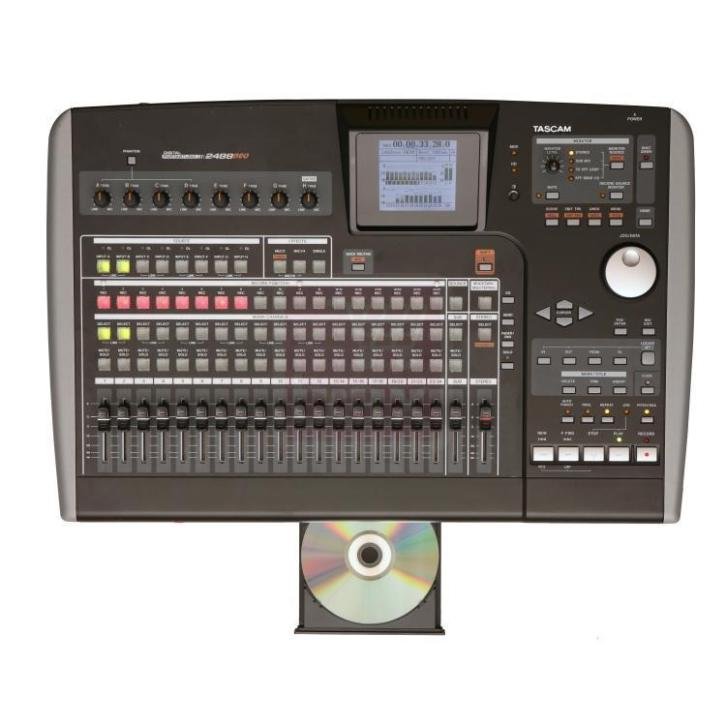 (B-stock) Tascam 2488neo digitale portastudio