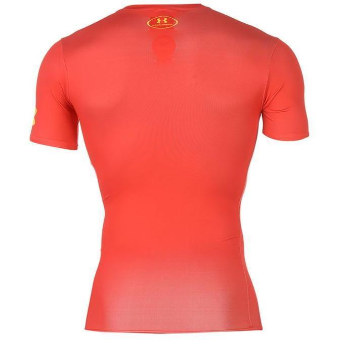Under Armour Armour Heat Gear Hero Baselayer Heren Flash S M