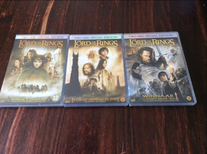Dvd films lord of the rings