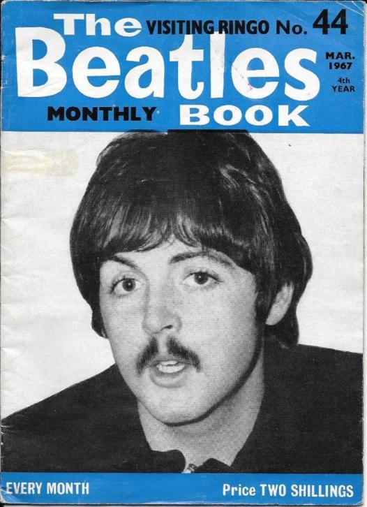 the official Beatles fan club newsletter ( march 1967).