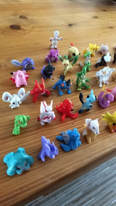 Originele Pokemon figuurtjes €0,75 per stuk! Collector Items