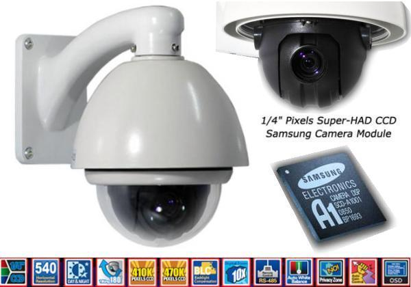 4 Inch autotracking high speed ptz dome camera OP=OP €199,95