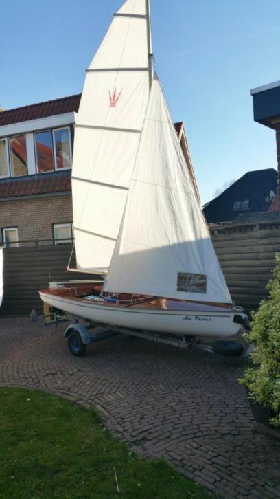 Zeil boot ala blance met boot trailer plus yamaha !!!!
