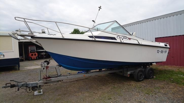 Mooie SPEEDKRUISER! Sea Ray Star 6.50 mtr,V8 + Trailer!