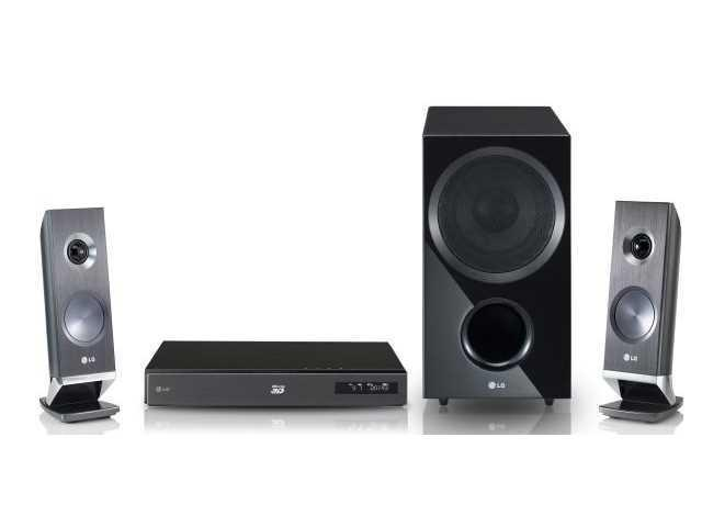 LG HX721 Home Theater System Smart 3D Blu-Ray