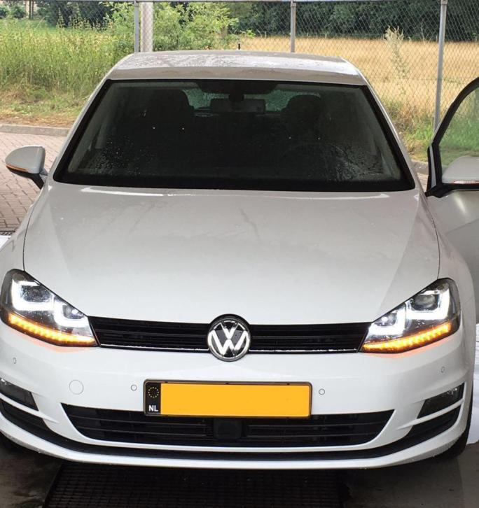 Golf 7 R Set Koplampen R-LINE R20 R 20 Dubbel Led