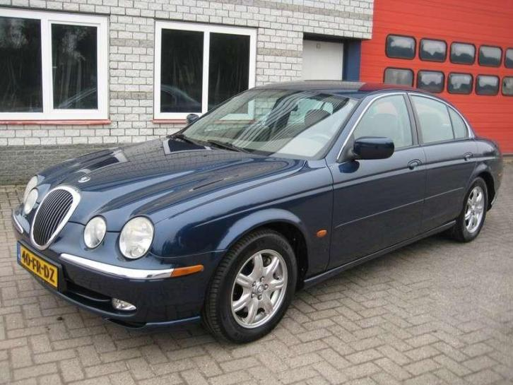 Jaguar S-type 3.0 V6 / leder / TOP AUTO !