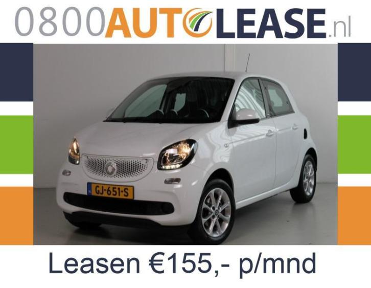 Smart Forfour 1.0 52KW | Lease € 155,– per mnd