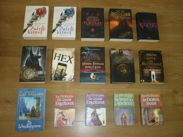 Fantasy collectie 3: Heitz - Tad Williams - Olde Heuvelt