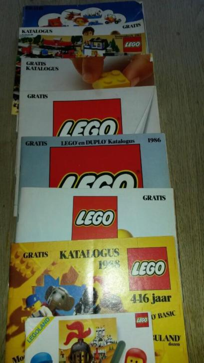 3folders 4 Catalogussen Lego