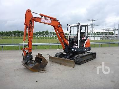 Kubota U50-3, mini graafmachine, 2008