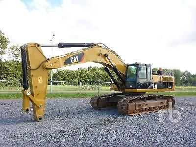 CATERPILLAR 349DL ME Hydraulische Graafmachine 2011