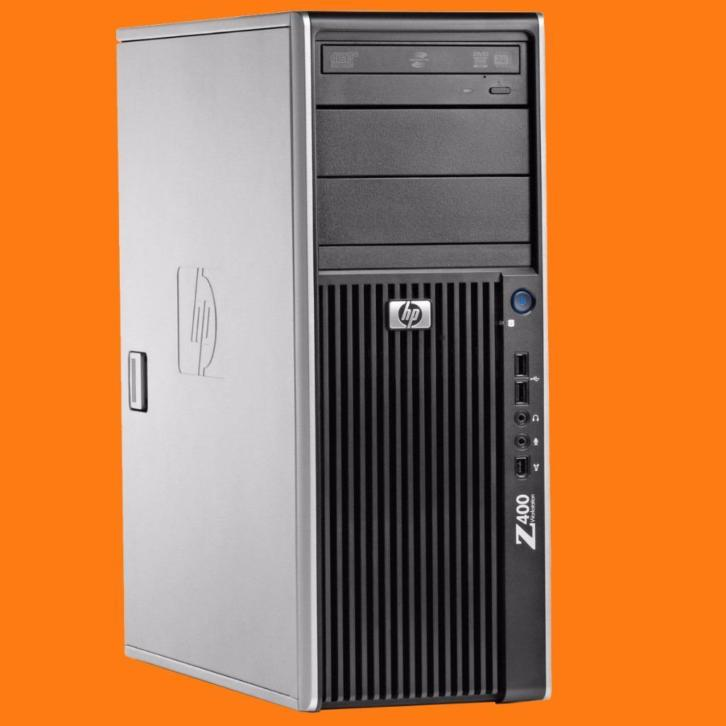 HP Z400 Workstation met Quad Core Xeon X5550 2.66-3.06 GHz