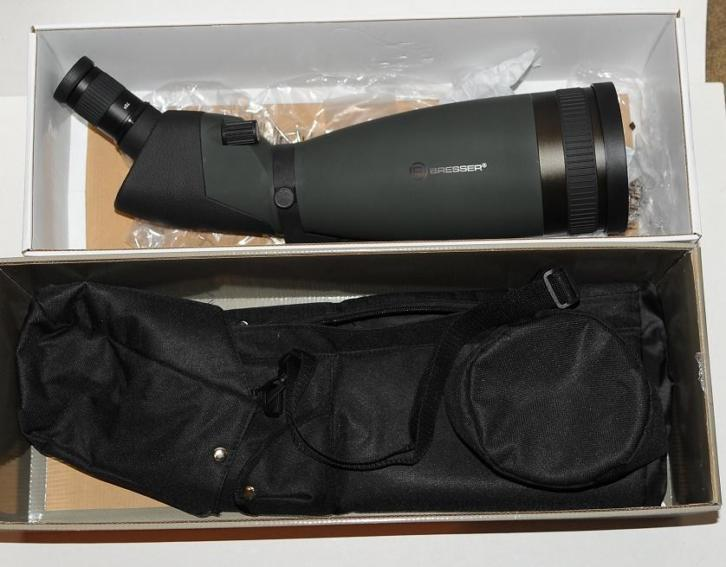 Bresser Pirsch WP 25-75X100 spotting scope 100% in nieuwstaa